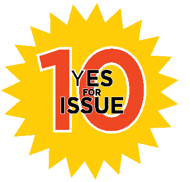 Yes for Issue 10